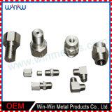 기계로 가공된 부속 스테인리스 관 이음쇠 놀이쇠 및 견과 (WW-MP017)