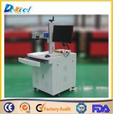 2D Laser Engraving Marking Machines de Bar Codes Fiber