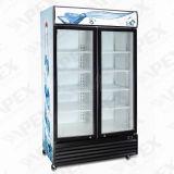 Refrigerador ereto do indicador da bebida da porta dobro do estilo novo com Ce, CB na alta qualidade
