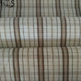 Baumwollpopelin-gesponnenes Garn färbte Gewebe für Kleid-Hemden/Kleid Rls40-40po
