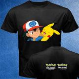 Gedrucktes T-Shirt der Form-Baumwollbeschaffenheits-preiswerten Männer Zoll