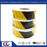 Schwarzes und Yellow Reflective Safety Warning Tape (C3500-S)