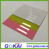 Transparent claro Acrylic Sheet para el LED