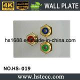Hete het Verkopen 118 Stijl Drie RGB Plaat van de Muur van het Lassen van de Module