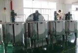 Réservoir de mélange de chauffage de vapeur d'acier inoxydable de catégorie comestible