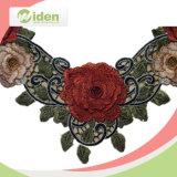 Testes padrões do laço para o laço do teste padrão de flor 3D de Rosa das meninas Colar