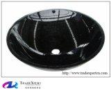 Lavabo nero smerigliatrice del granito della Cina
