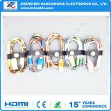 Uitstekende kwaliteit met Mooie Nylon Vlecht die voor Kabel USB overbrengen