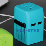 Aangepaste Travel Adapter met USB Charger