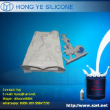 プラスターコーニス型の作成のための液体のシリコーンゴム