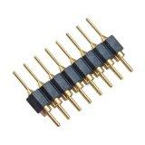 singola intestazione lavorata R/a di Pin di riga H=3.0 di 2.54mm
