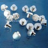 保護装置およびブレーカのための電気銀製の接点の/Sterlingの銀の接触のリベット