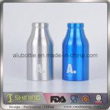 Bouteille en aluminium vide neuve pour la boisson