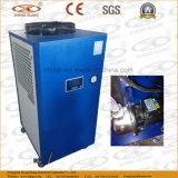 Refrigeratore di acqua raffreddato aria con l'evaporatore dell'acciaio inossidabile