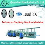 Máquina fina superior da almofada sanitária de Untra com GV (HY600-HSV)