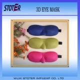 Heiße verkaufenkundenspezifische materielle Schablone des Augen-3D mit Ohr-Steckern