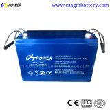 Bateria profunda solar azul do ciclo da bateria 12V 100ah Cg12-100