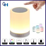 Portátil Touch Sensor Lamp Table LED Bluetooth Speaker com TF Card Play