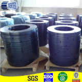 Blauwe staalriem die in China wordt gemaakt