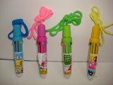 Crayon lecteur coloré de jouet promotionnel avec la sucrerie
