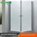 Portello di alluminio di vetro dell'acquazzone di allegato dell'acquazzone