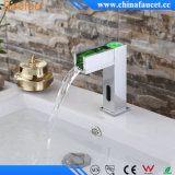 Beelee Cold Hot Waterfall Automatic Sensor Faucet mit LED
