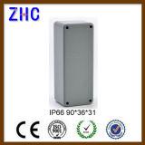 120*120*82電子使用のプロジェクト機構IP66の保護レベルによってダイカストで形造られるアルミニウムボックス