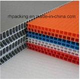 PPは波形のプラスチックボードを印刷した。 デジタル印刷、インク印刷