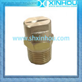 Gicleur plat de réservoir de nettoyage de jet de ventilateur en métal de traitement des eaux