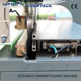 Dobradura automática e máquina de soldadura para a bandeira plástica (FMQZ)