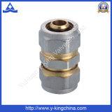 Nickel überzogener Messingkomprimierung-Nippel (YD-6056)