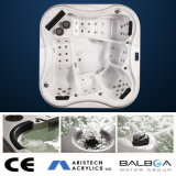 Sale caliente Whirlpool Massage Aristech Acrylic Balboa Hot Tub para 5 Person Hot Tub con 2 Loungers