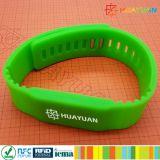 HF MIFARE di 13.56MHz ISO1443A più il Wristband del silicone RFID di S 2K