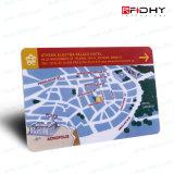 Carte principale personnalisée biodégradable de chambre de hôtel d'IDENTIFICATION RF