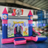 Maison gonflable Bouncer avec toboggan / PVC gonflable Bouncer / Inflatable Children Bouncy Castle