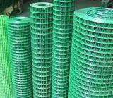 Engranzamento revestido/galvanizado do PVC de Weled de fio para a segurança