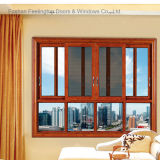 Metal residencial Windows moldado com vidro dobro (FT-W126)