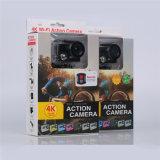 Câmera H8 da ação de HD 4k PRO com a lente 6g