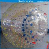 Materiale del PVC della sfera di Zorbbing dell'acqua per i giochi della sosta dell'acqua