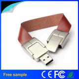 2016 Real Capacity 16GB pulseira de couro USB Pendrive