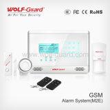 Dispositivo antirrobo del G/M de la seguridad casera de ladrón del hogar sin hilos de la alarma