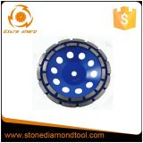 Ferramentas abrasivas Fast Aggressive Grinding Customed Diamond Concrete Cup Wheels
