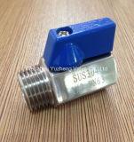 De MiniatuurKogelklep van het roestvrij staal