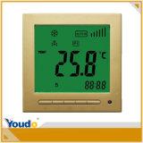 Termostato da temperatura da bobina do ventilador do assoalho do quarto da ATAC LCD