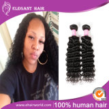 꼬부라진 Malaysian Human Hair Weave Deep Curly 16inches