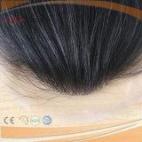 Hairpiece atado mano completa de la base del cordón del pelo humano (PPG-L-0152)