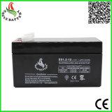 12V 1.2ah wartungsfreie Leitungskabel-Säure-Batterie für Notleuchte