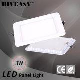 Instrumententafel-Leuchte der runden Ecken-3W quadratische Acryl-LED mit Cer lokalisierter Fahrer Heiß-Verkauf Instrumententafel-Leuchte
