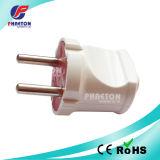 Enchufe euro del adaptador del recorrido de AC/DC para el cable eléctrico (pH6-2004)