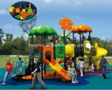 Скольжения пластмассы парка атракционов игры Playzone малышей установленные напольные